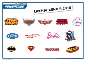 Powerslide License Overview 2015