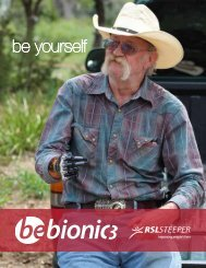 be yourself - BeBionic