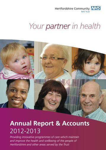 2012-2013 - Hertfordshire Community NHS Trust