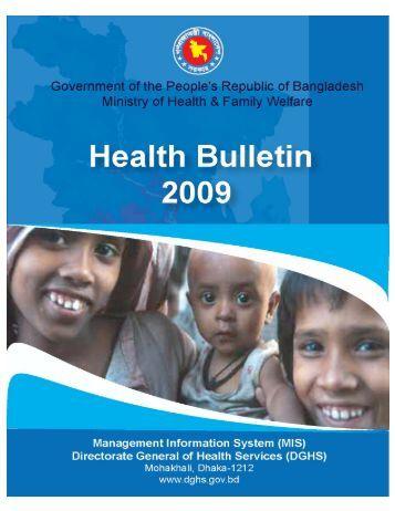 Health Bulletin 2009