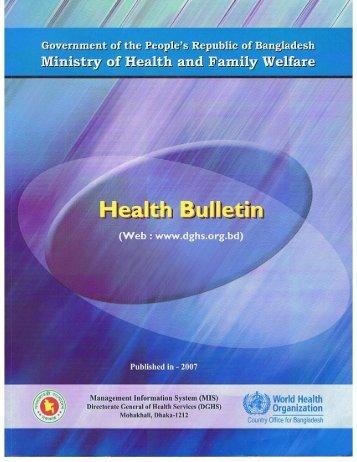 Health Bulletin 2007