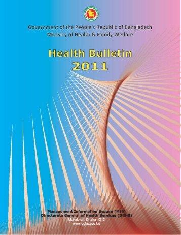 Health Bulletin 2011