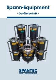 Spann-Eq quipment - SPANTEC Spann- & Ankertechnik GmbH
