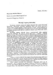 Kraków, 29.03.2012 - Wydział Matematyki i Informatyki UWM w ...