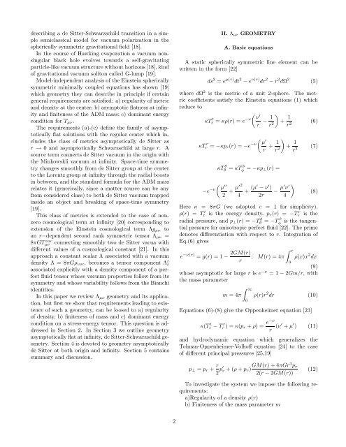 arXiv:gr-qc/0304110 v1 30 Apr 2003