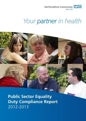 Public Sector Equality Duty Compliance Report for 2013