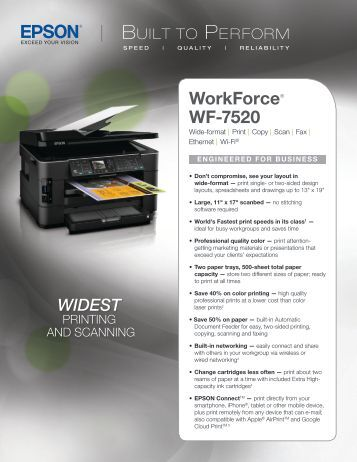 Workforce® WF-7520
