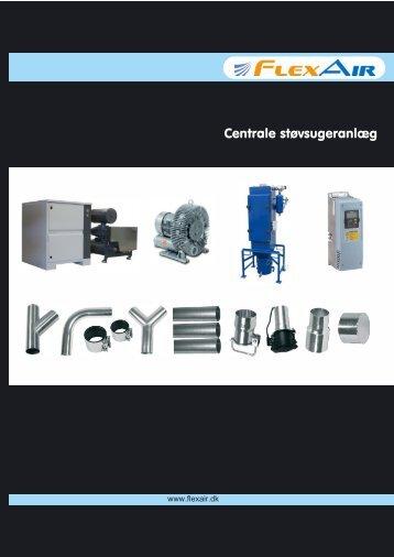 Centrale støvsugeranlæg - Ny - FlexAir