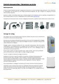 Centrale støvsugeranlæg - Ny - FlexAir - Page 4
