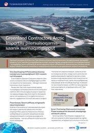 Greenland Contractors Arctic Importilu ... - f.metal-supply.dk