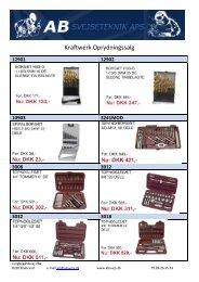 Kraftwerk Oprydningssalg - f.metal-supply.dk
