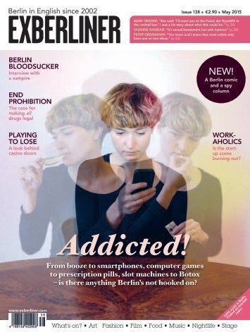 Exberliner Issue 138, May 2015