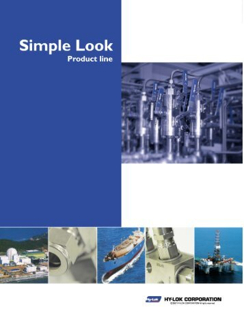 Page 1 Page 2 tr. g Hy-LokTube Fittings APPLICATIONS ...