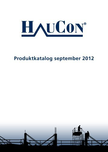 Produktkatalog september 2012 - f.metal-supply.dk