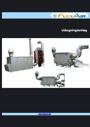 Brochure, udsugningsanlæg - f.metal-supply.dk