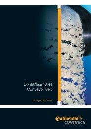 ContiClean® A-H Conveyor Belt - f.metal-supply.dk