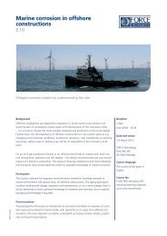 Marine corrosion in offshore constructions - f.building-supply.dk