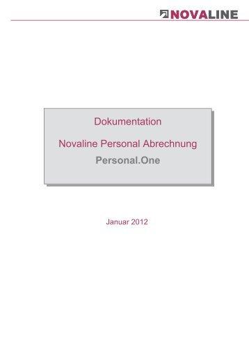 Personalabrechnung - Novaline