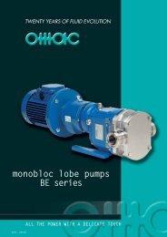monobloc lobe pumps BE series - Alflow