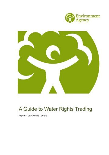 A Guide to Water Rights Trading