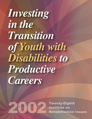 Investing in the Transition of Youth with Disabilities - Raising Special ...