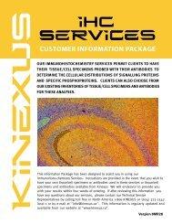 commercial invoice - Kinexus Bioinformatics Corporation