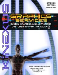download the Graphics Customer Info Package - Kinexus ...