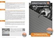 WPC Terrassendielen Verlegeanleitung