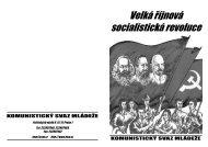K 90. výročí VŘSR - Komunistický svaz mládeže