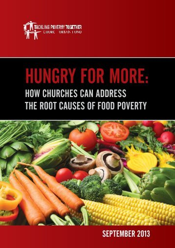 Hungry for More - The Lancaster Diocese Faith & Justice C