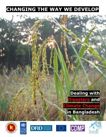 changing the way we develop - Climate Change and Bangladesh
