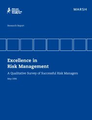 Excellence in Risk Management - RIMS
