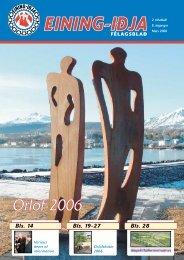 Orlof 2006 - Eining-Iðja