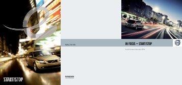 IN FOCUS — start/stop - Volvo