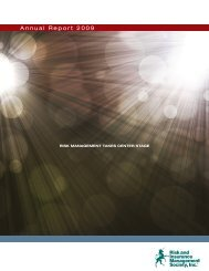 Annual Report 2009 - RIMS