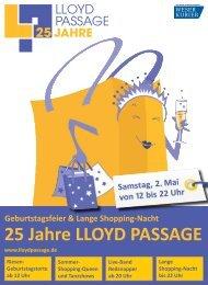 25 Jahre LLOYD PASSAGE