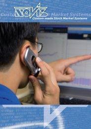 Custom made Stock Market Systems - NOVIS Software GmbH