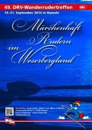WRT 2014 HAMELN 49. DRV-Wanderrudertreffen - Ruderverein ...