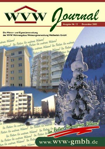 2002/12 - Dezember - WVW Weißenfels GmbH