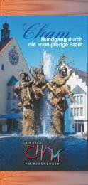 Rundgang durch die 1000-jährige Stadt - Kanu Bezirk Oberpfalz