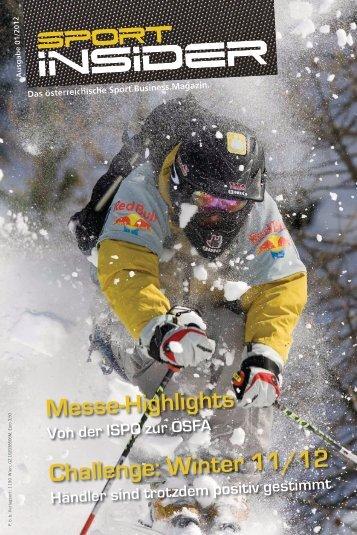 Downoad Sport INSIDER 01/2012 als PDF - Freizeitalpin