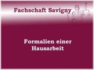 hausarbeitformalien - Fachschaft Jura Marburg