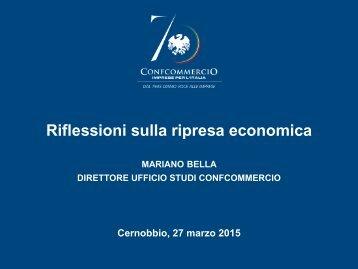 Riflessioni sulla ripresa economica