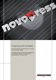 HSBL-2 - Novopress GmbH Pressen und Presswerkzeuge & Co. KG