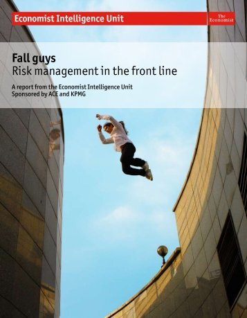 Fall guys Risk management in the front line - ACE Group