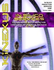 (IKMP) Services Customer Information Package - Kinexus ...