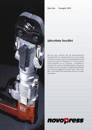 Jahrzehnte bewährt - Novopress GmbH Pressen und ...