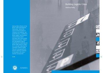 Building Legible Cities book - Bristol Legible City