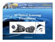 3D Optical Scanning Presentation