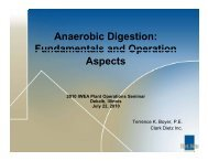 Anaerobic Digestion: Fundamentals and Operation Fundamentals ...